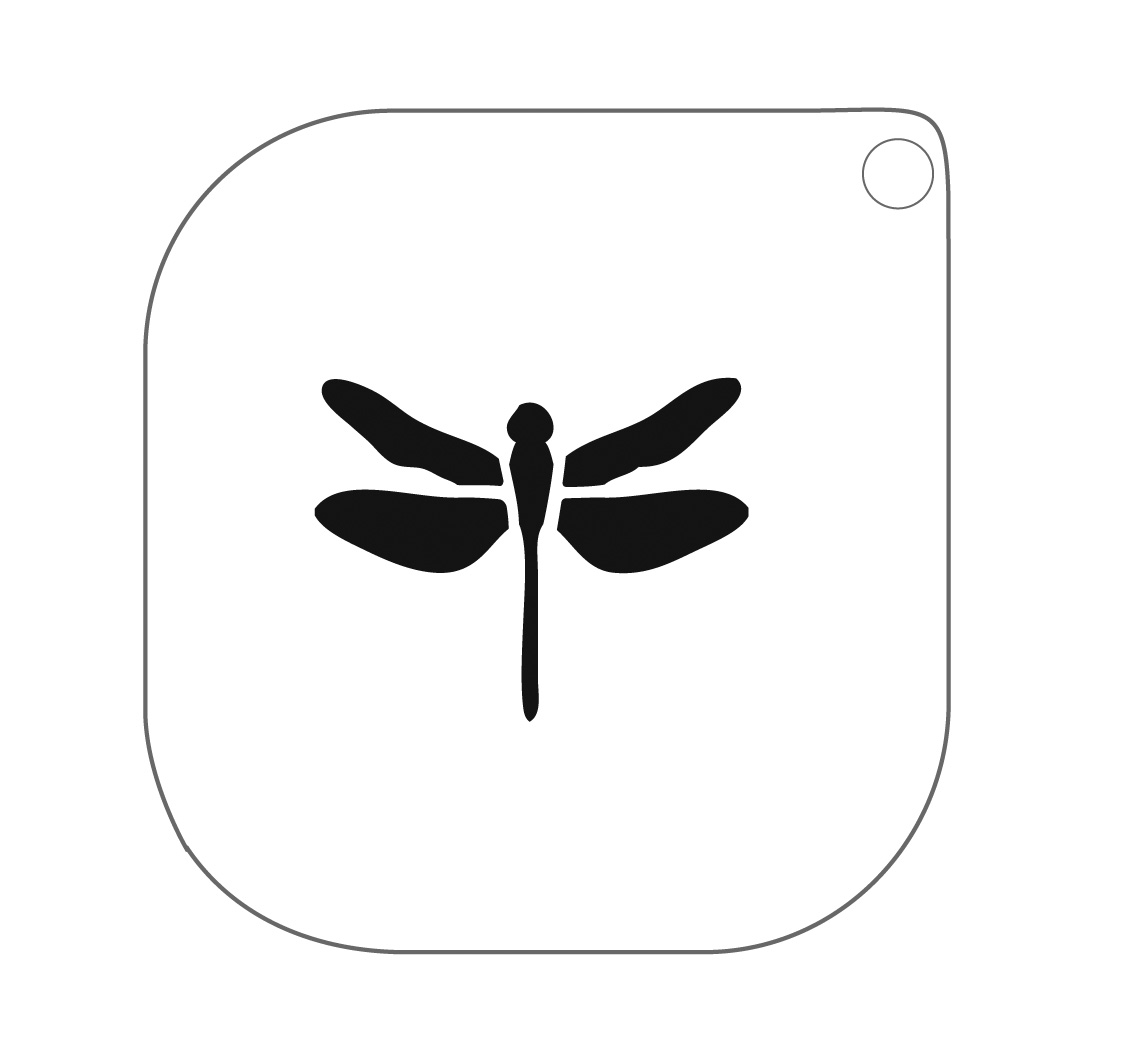 Grimas Schminksjabloon Nr.59 Libelle