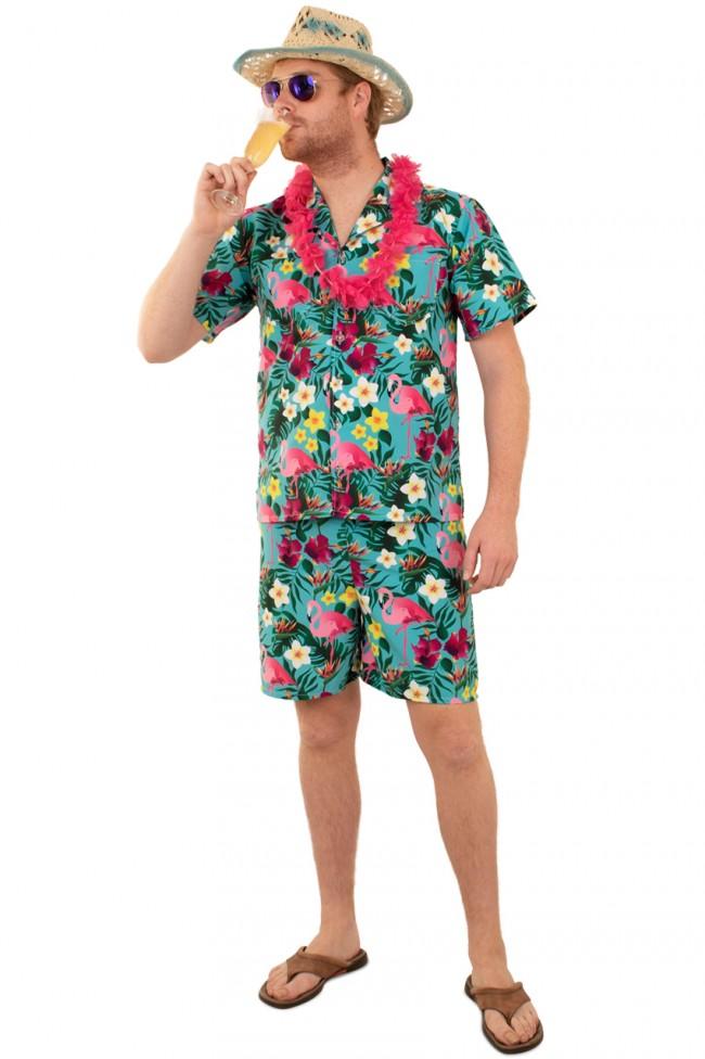 Kostuum Hawaï Set Heren