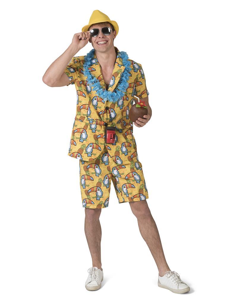 Kostuum Reizende Toekan Heren
