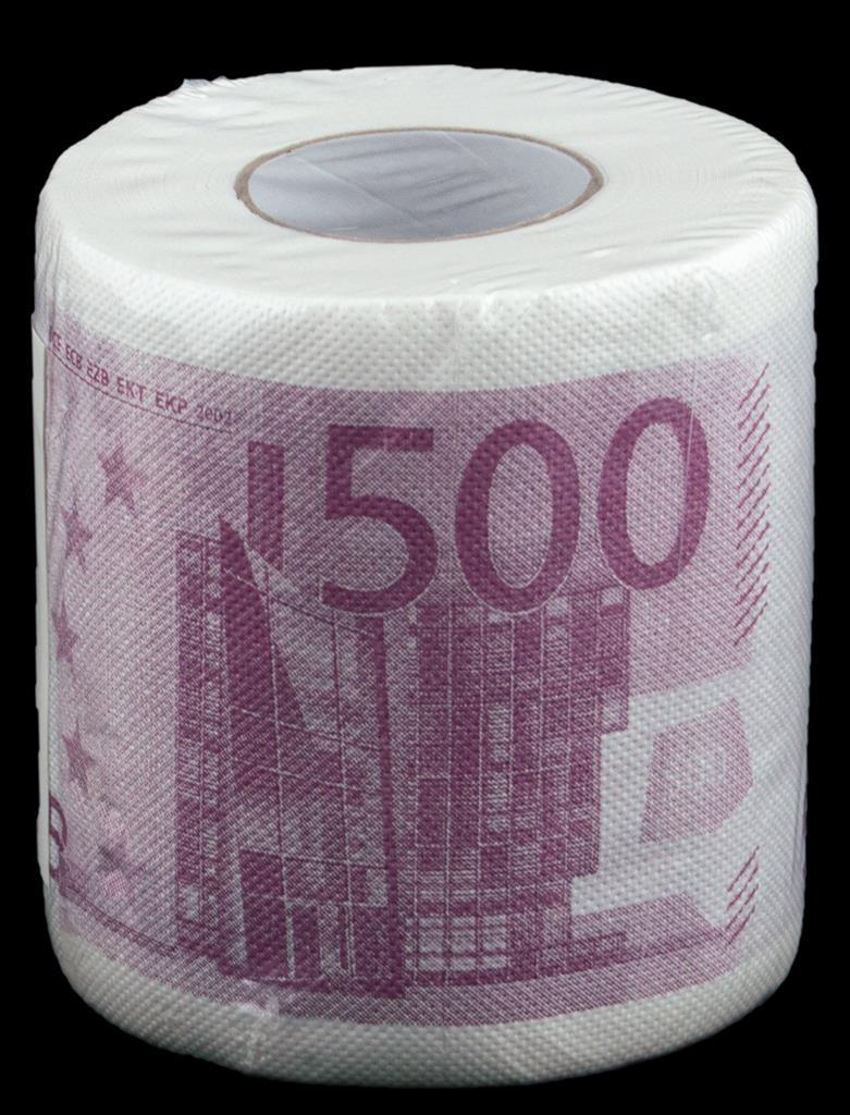 Toiletpapier 500 Euro