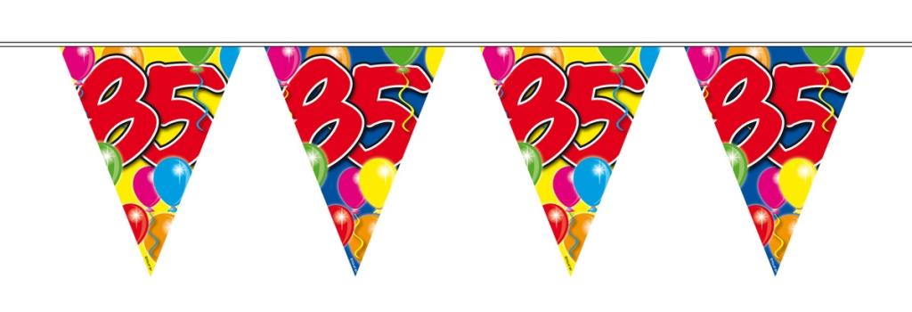 10m Vlaggenlijn Ballon 85 jaar