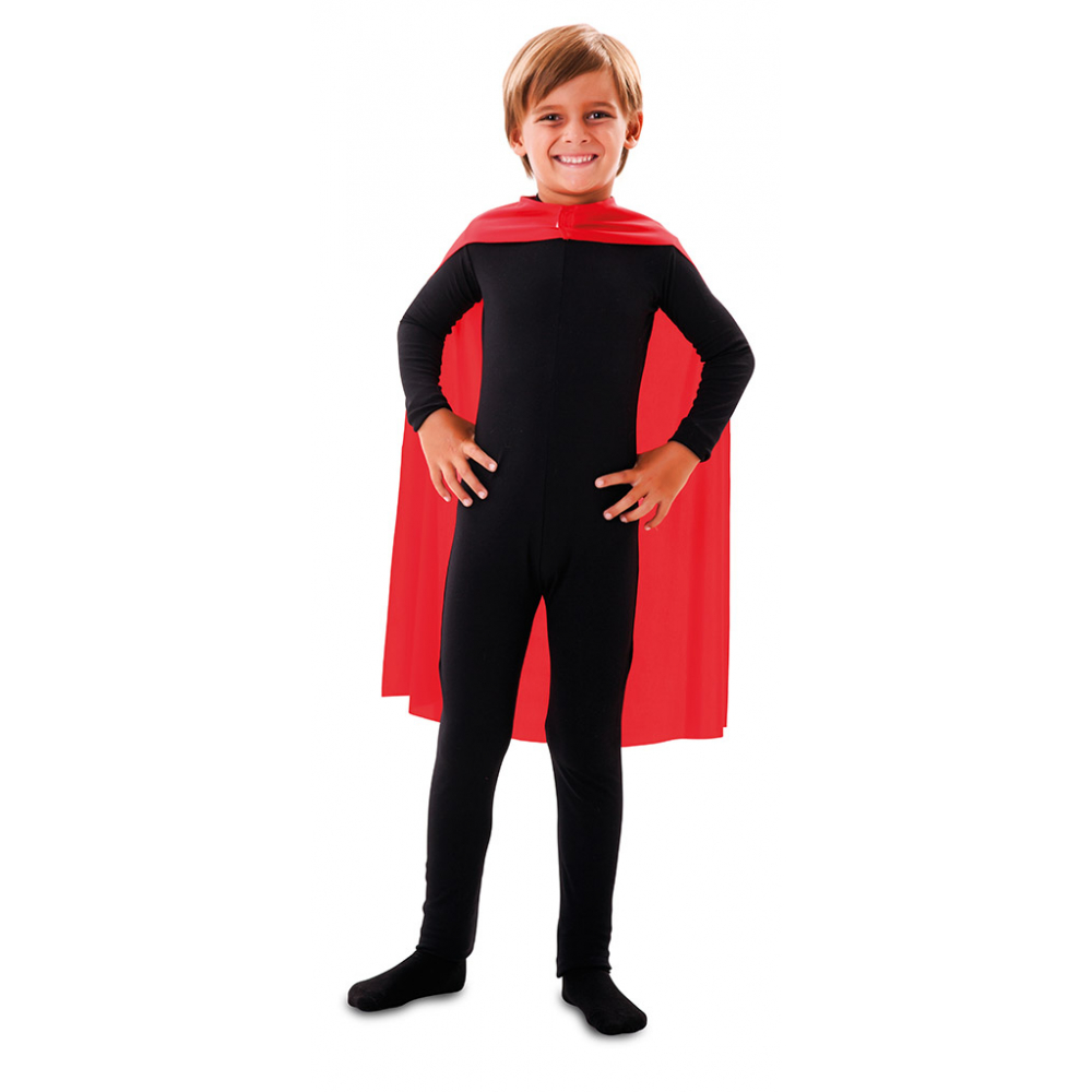 Cape Superheld Rood Kind
