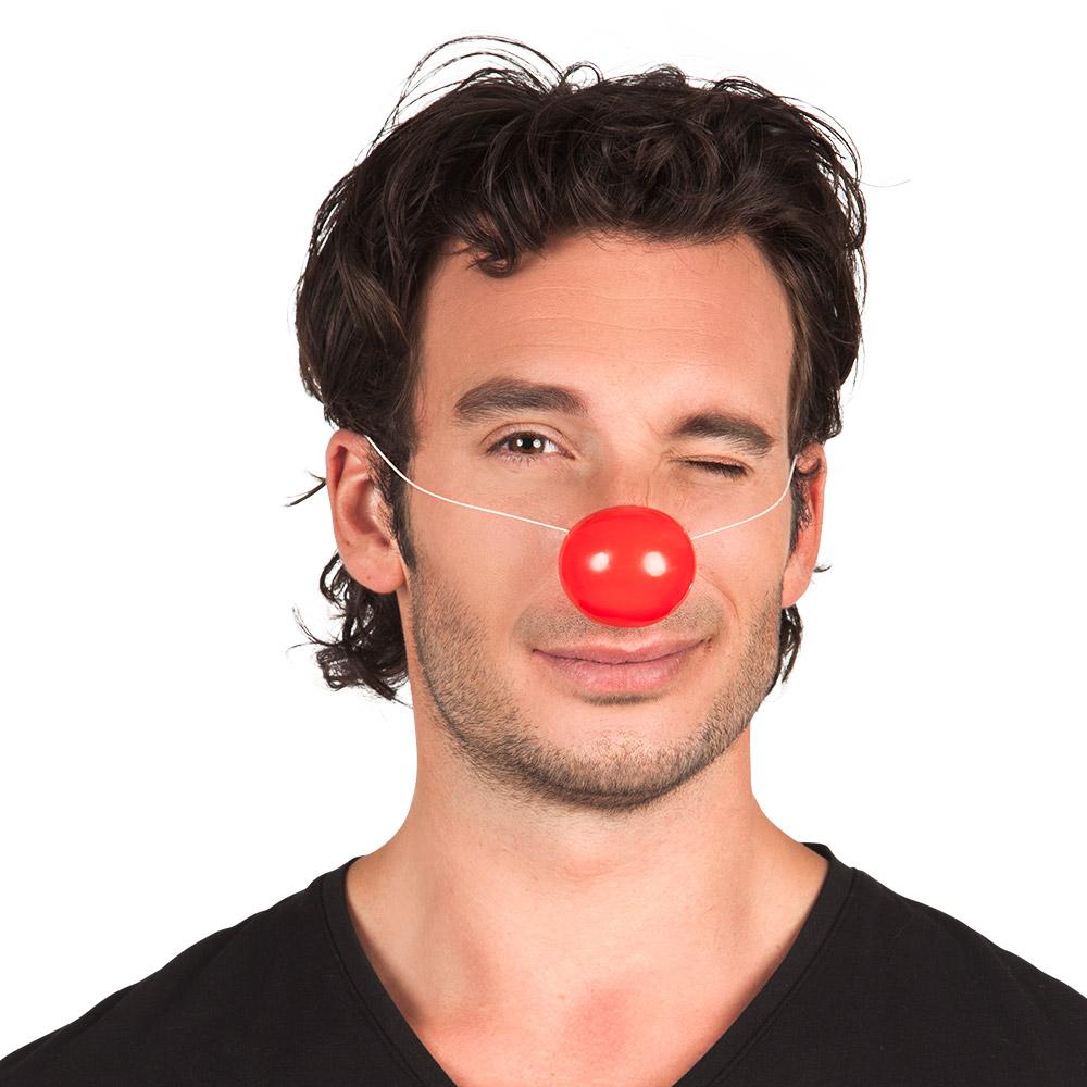24st Clownsneus Klem Rood met Elastiek