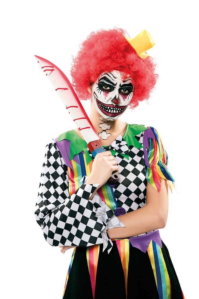 Duivels Clownsmes 53cm
