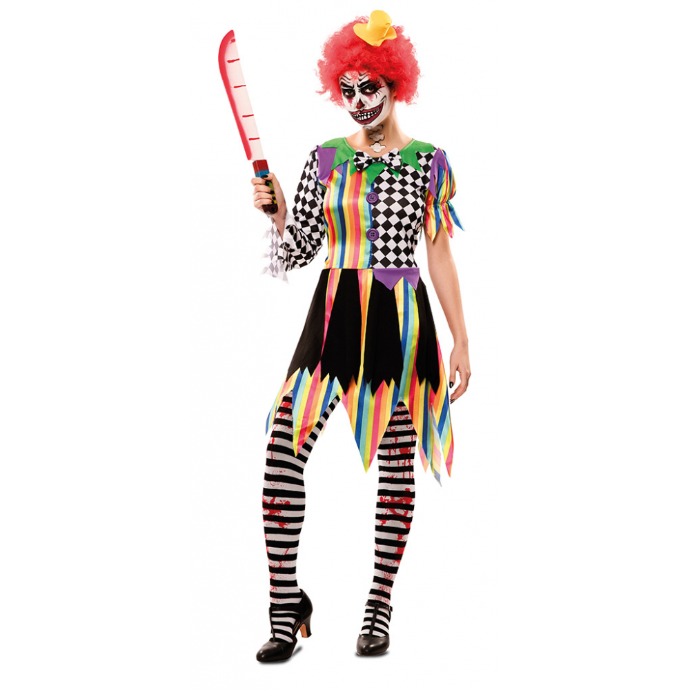 Jurkje Sinistere Clown Dames