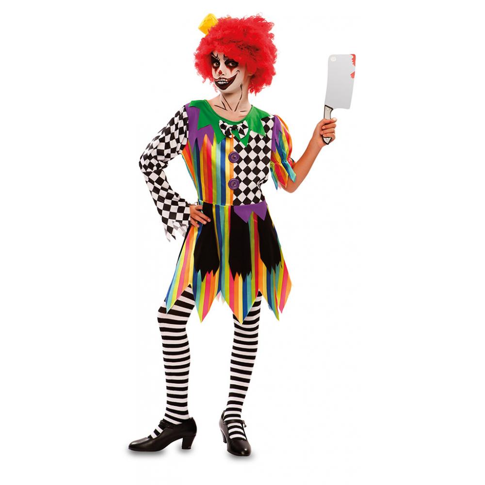 Jurkje Sinistere Clown Meisje