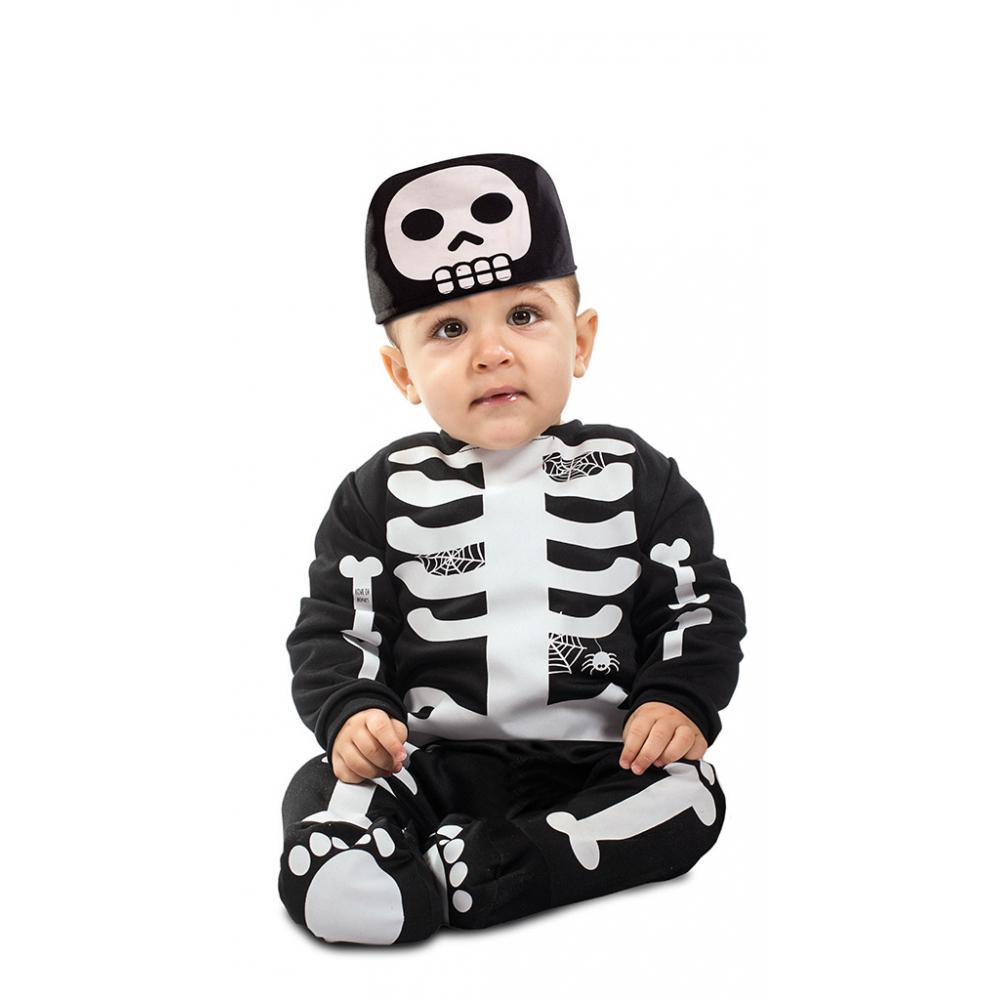 Kostuum Baby Skelet met Muts