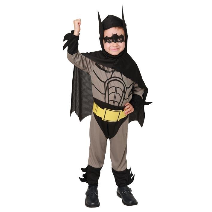 Kostuum Batman/Vleermuisheld Kind 3-4jaar