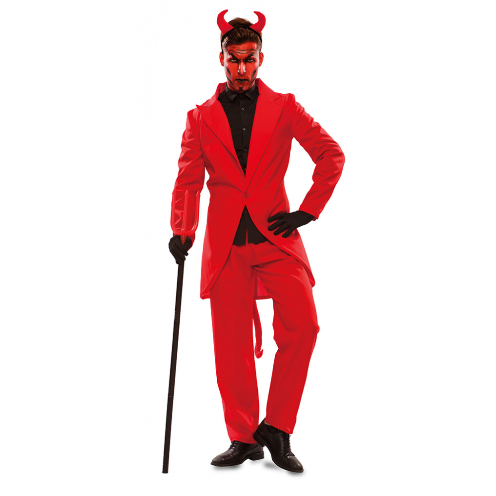 Kostuum Duivel Rood Heren