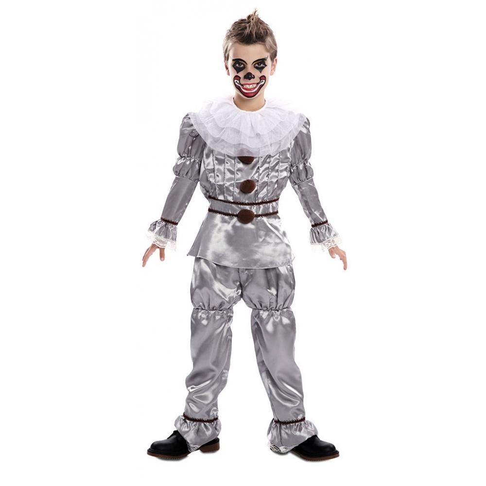 Kostuum Duivelse Clown Kind