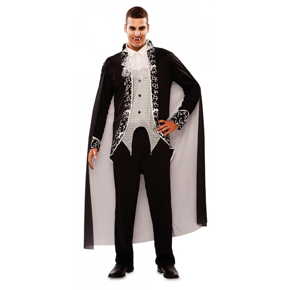 Kostuum Gothic Vampier Heren Mt.M/L