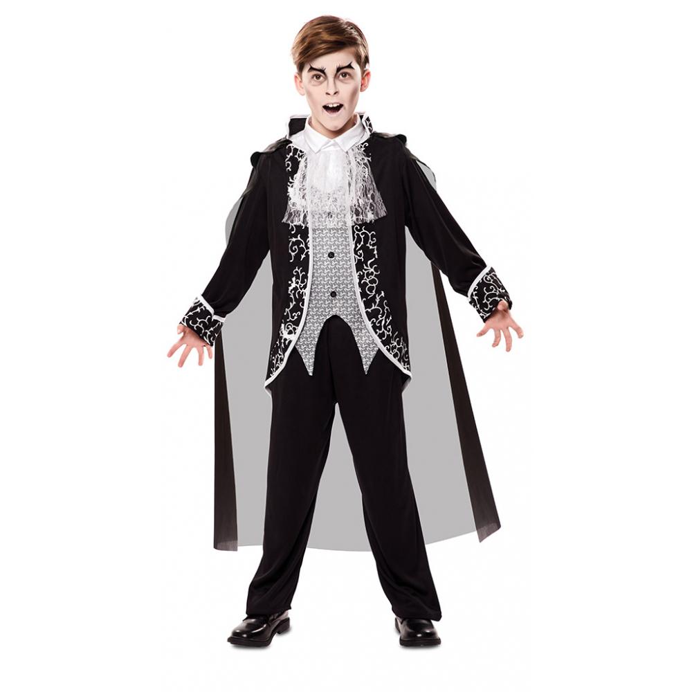 Kostuum Gothic Vampier Jongen