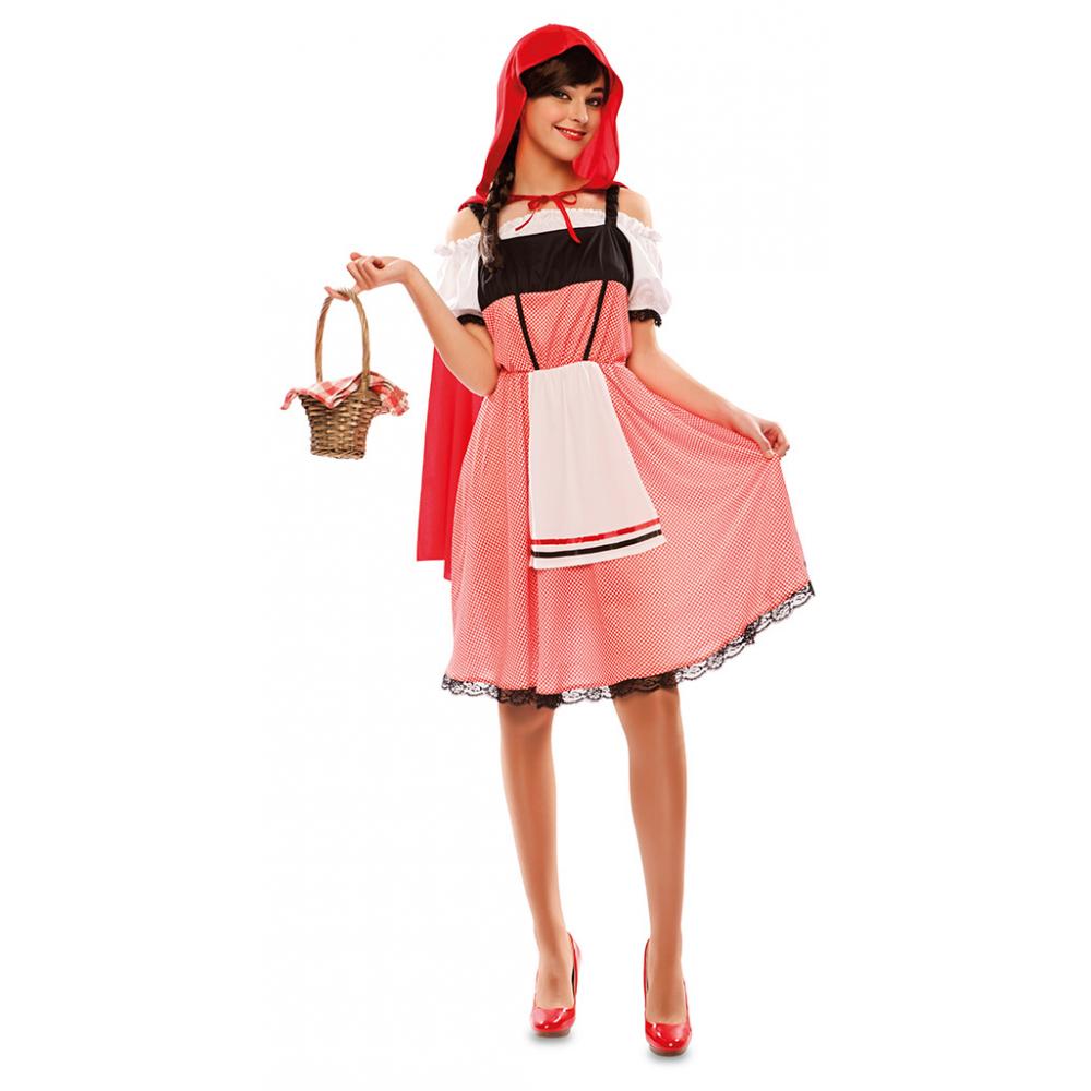 Kostuum Roodkapje Dames