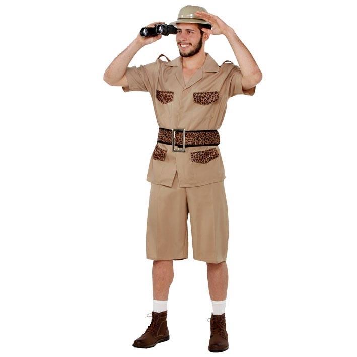 Kostuum Safari Heren Mt.M/L