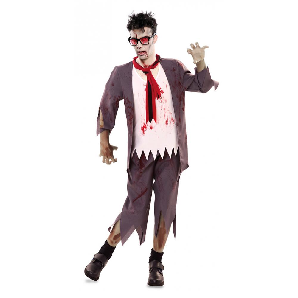 Kostuum Zombie Schooljongen Heren
