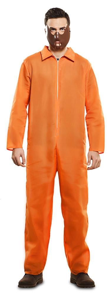 Overall Gevangenis Oranje Volwassen