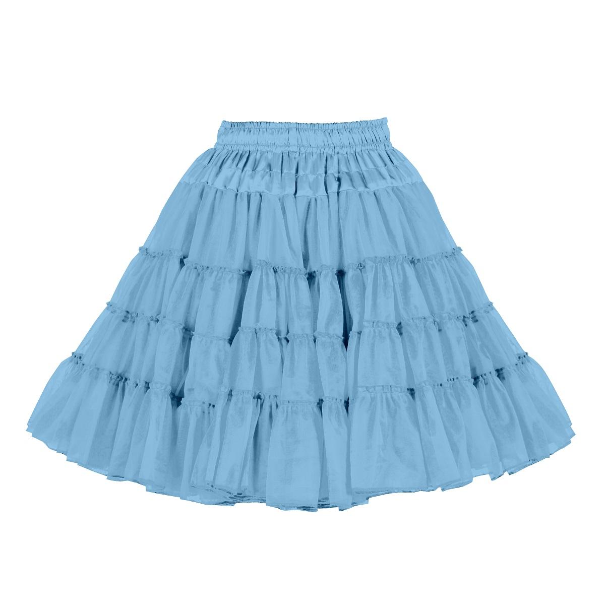Pettycoat Luxe 3-Laags Baby Blauw Volwassen
