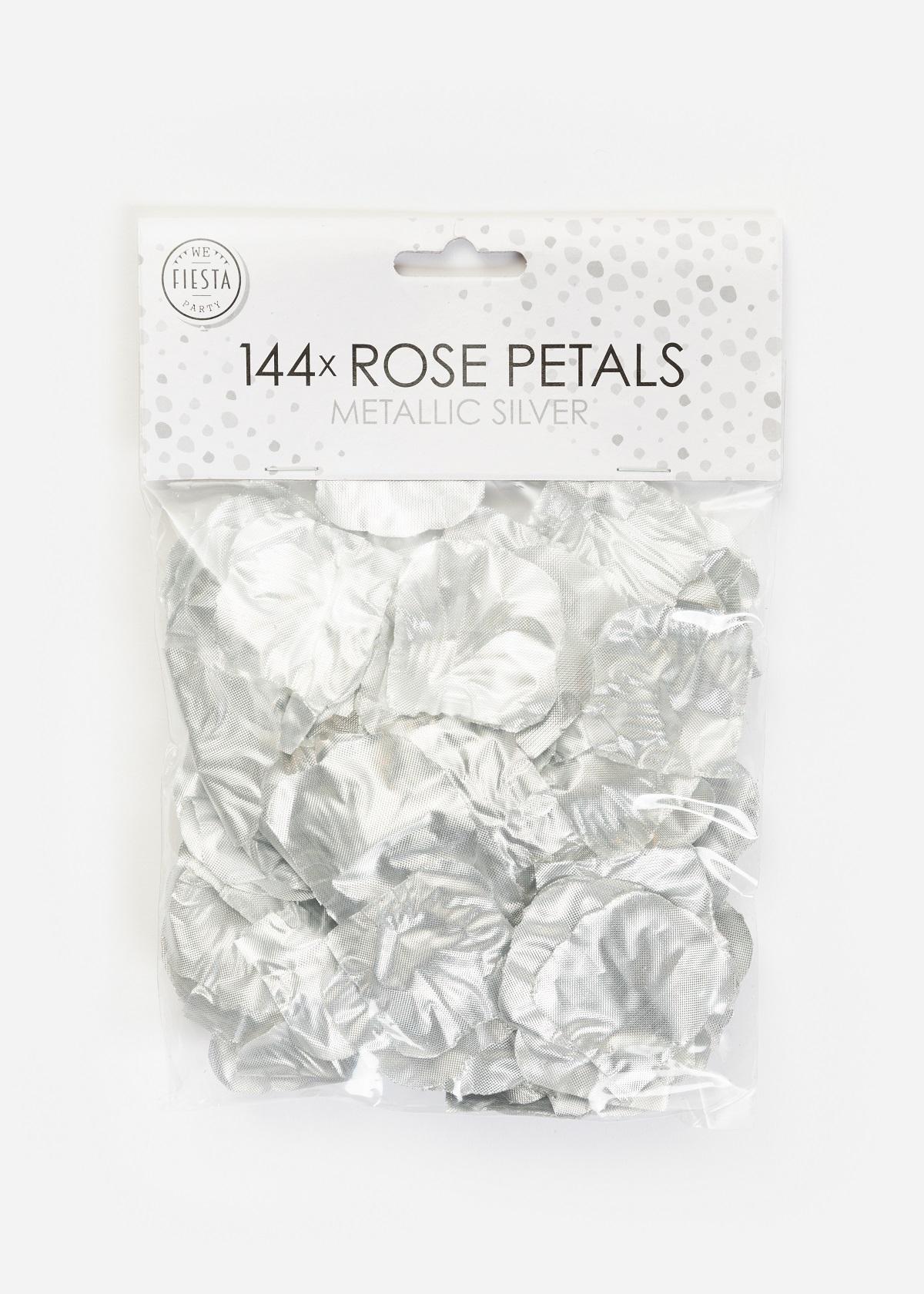 144st Rozenblaadjes Zilver