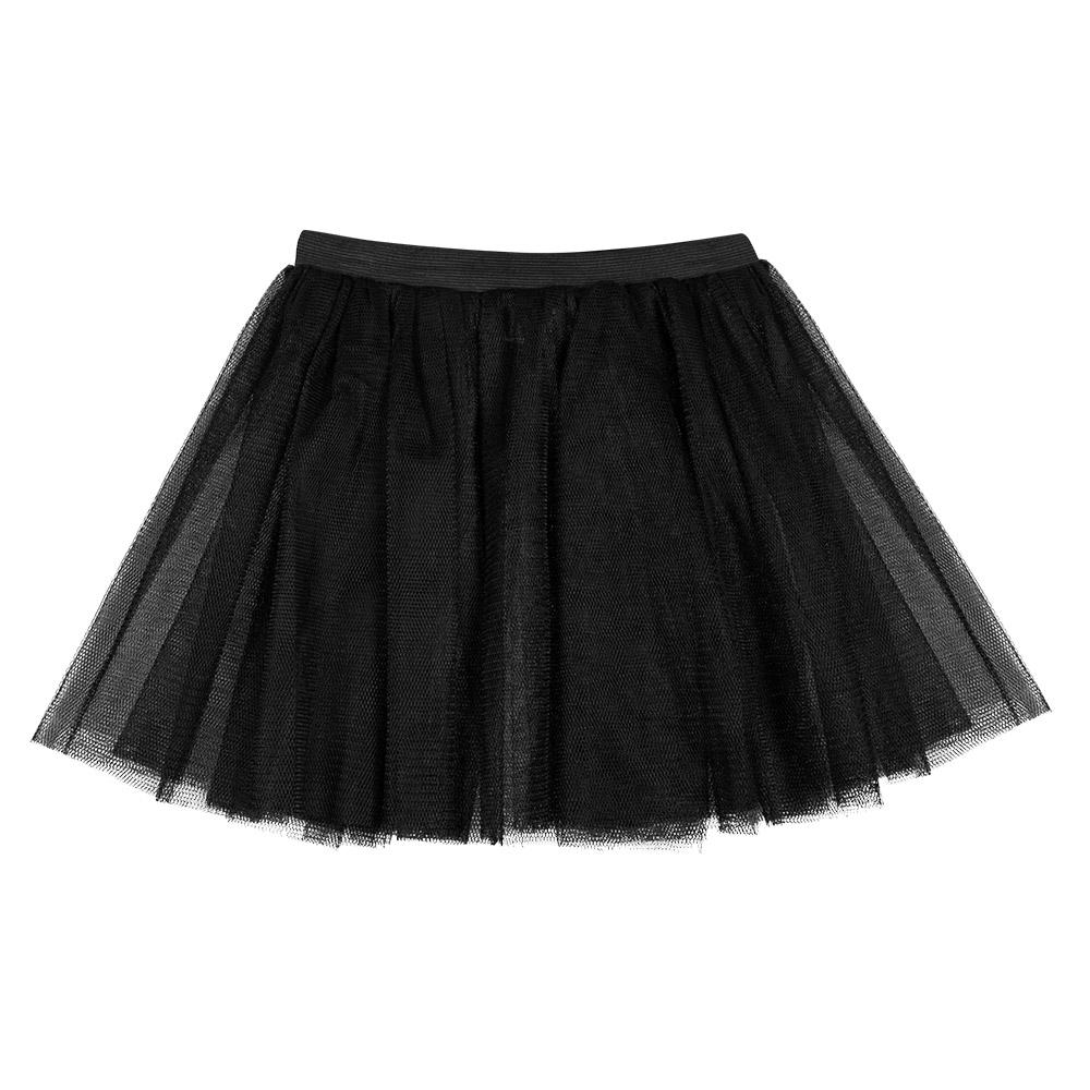 Tutu/Pettycoat Zwart 30cm Kind/Volwassen