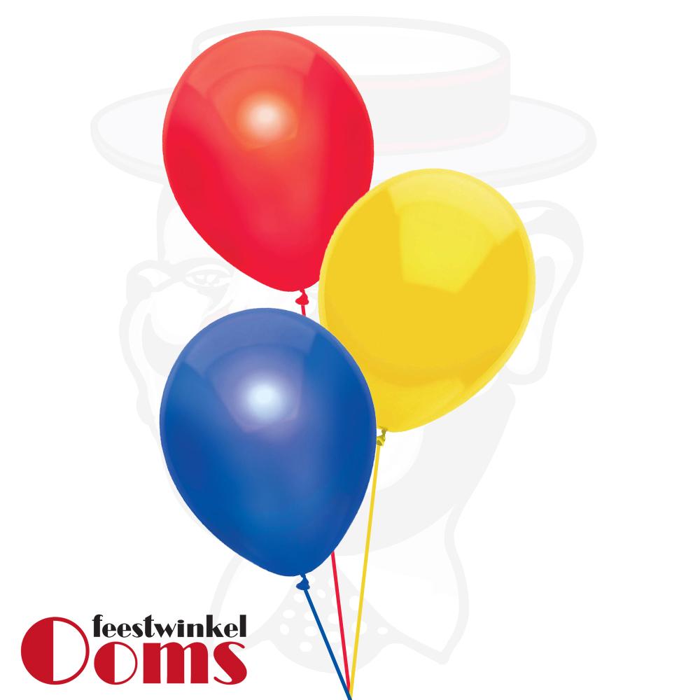 Ballonnen Tros 3st Assortiment