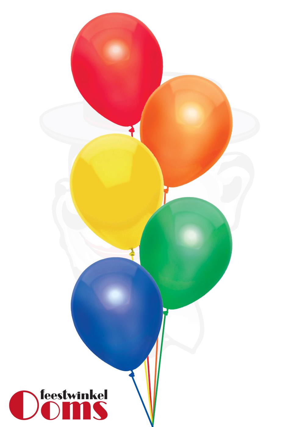 Ballonnen Tros 5st Assortiment