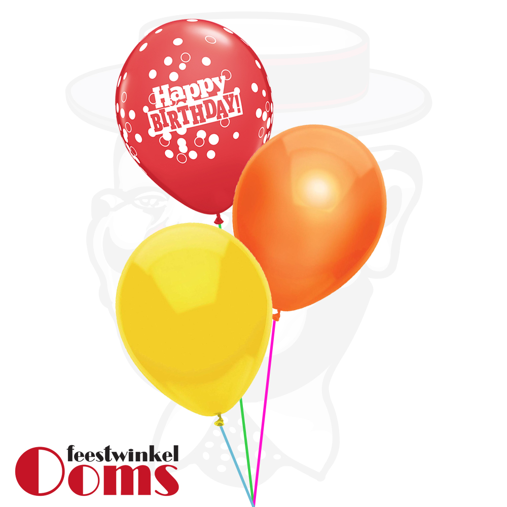 Ballonnen Tros 3st Verjaardag