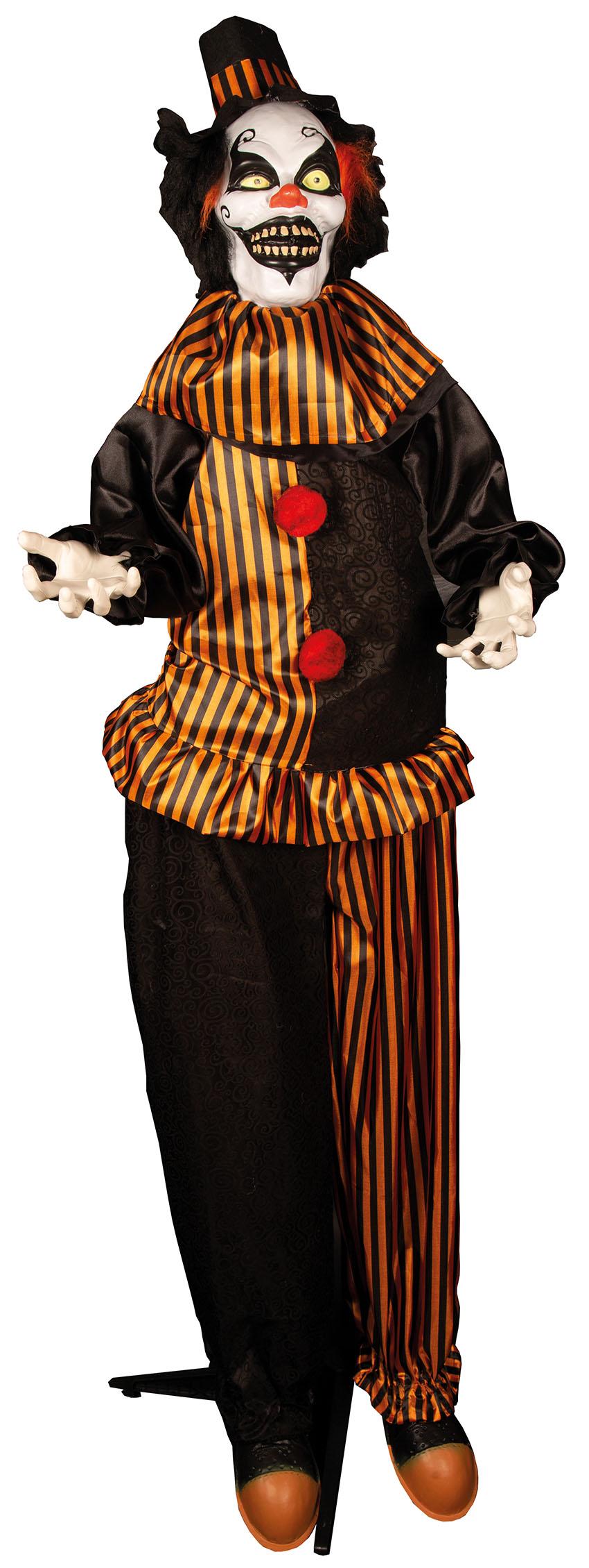 Deco Clown Staand Licht en Geluid 170cm