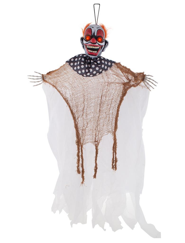 Deco Scary Clown met Licht 110cm