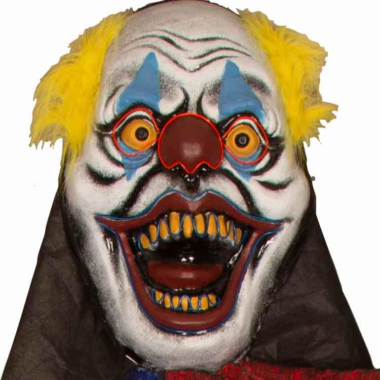 Deco XXL Clown met Licht 365cm