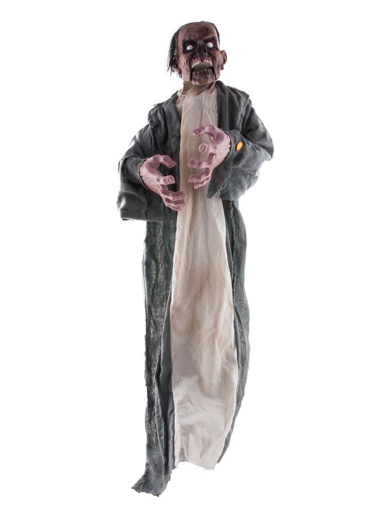 Deco Zombie met Licht, Geluid en Beweging 120cm