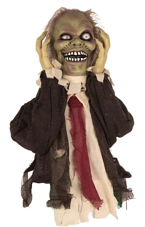 Deco Zombie met Licht, Geluid en Beweging 55cm