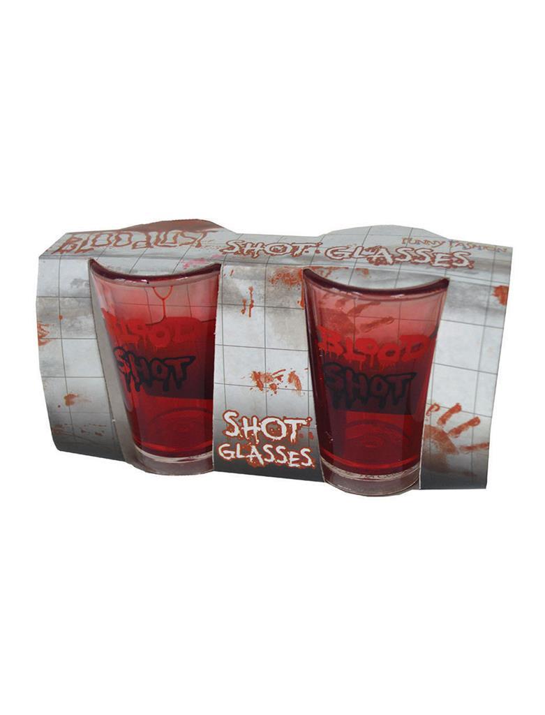 2st Dubbelwandig Shotglas Blood Shot