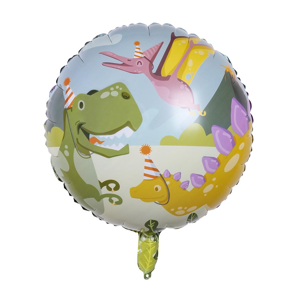 Folieballon Dino Party 45cm