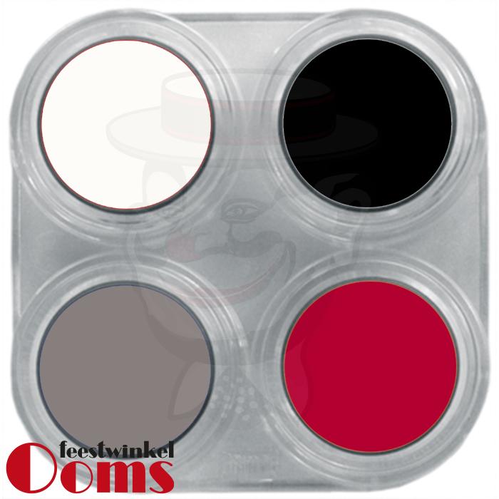 Grimas Water Make-up 4kl Palet Halloween