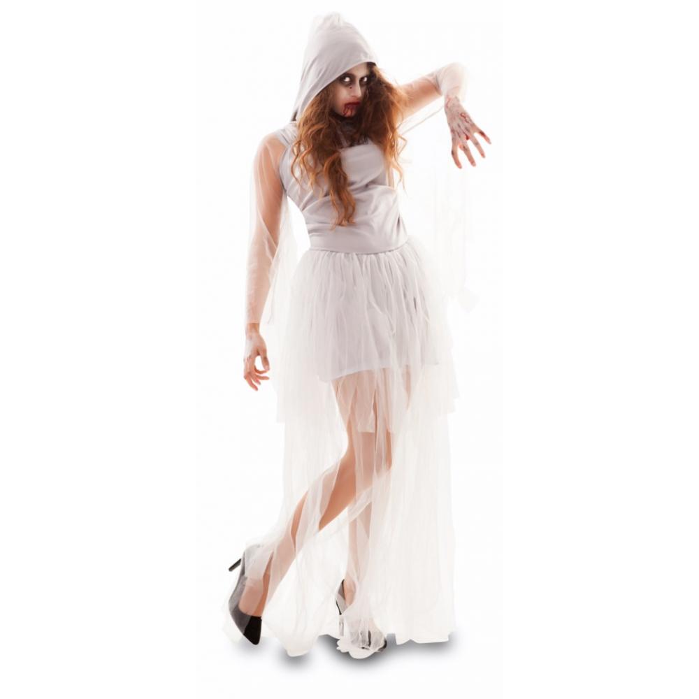 Kostuum Zombie Bruid Dames Mt.M/L
