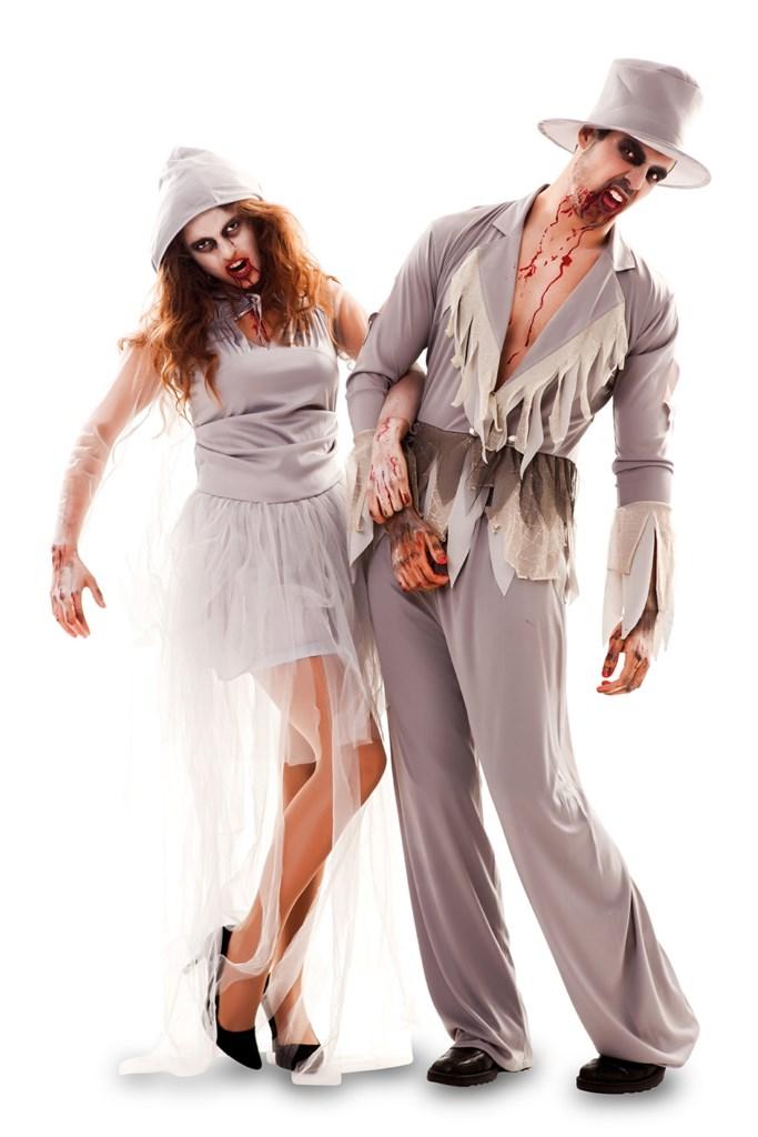 Kostuum Zombie Bruidegom Heren Mt.M/L