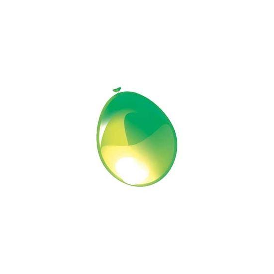 """100st Pearl Ballonnen 5"""" Groen-535"""