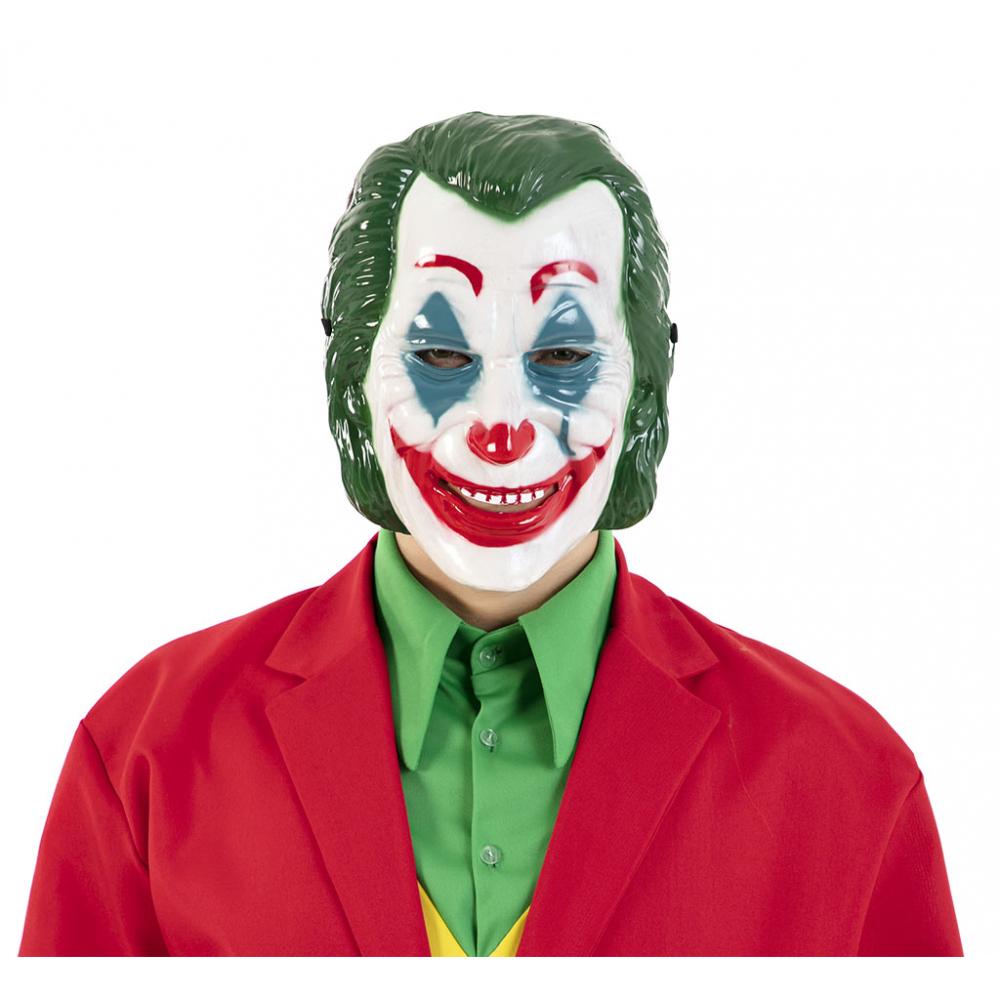 Plastic Masker Joker Luxe