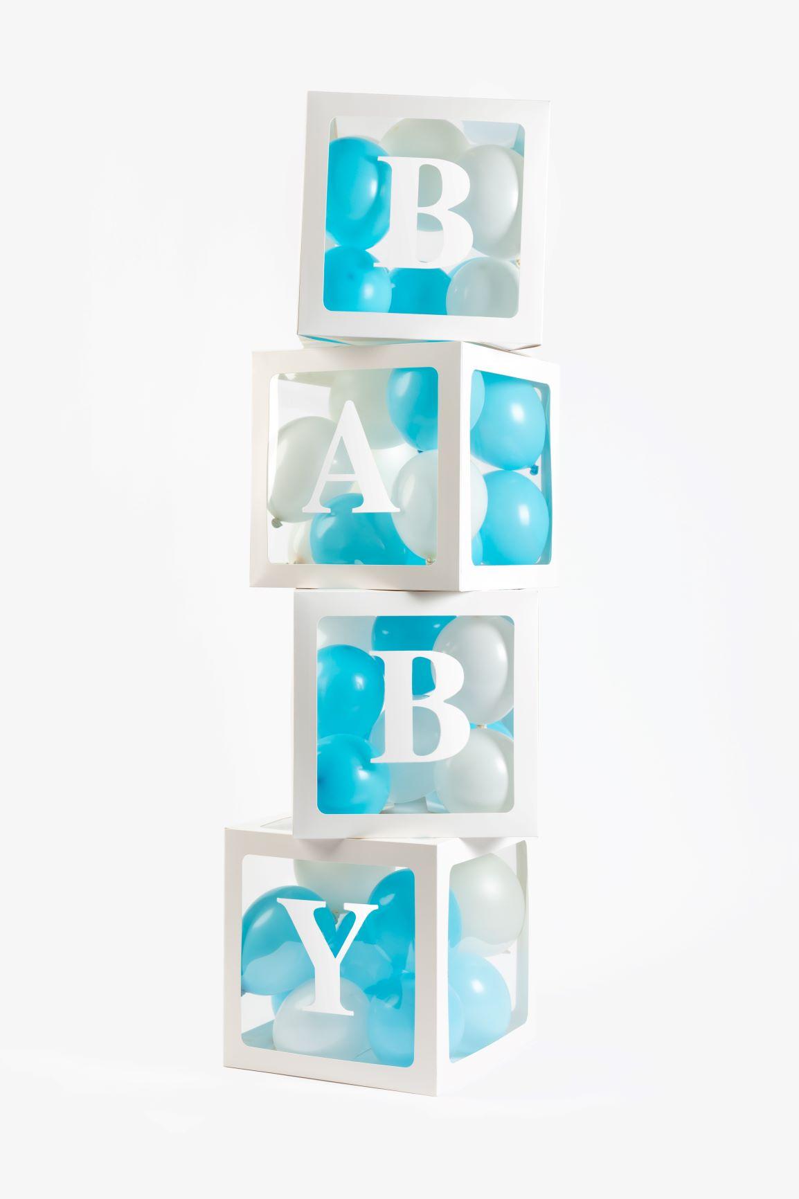 4st Balloon Boxes B.A.B.Y en L.O.V.E