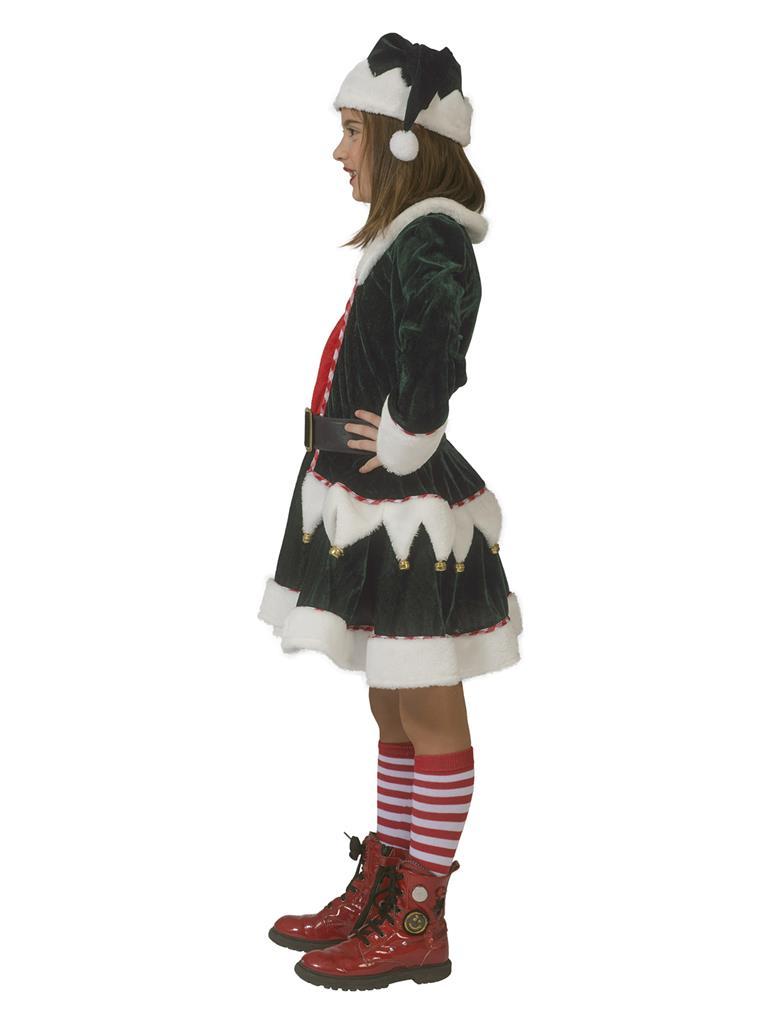 Jurkje Funny Elf Meisje Mt.140
