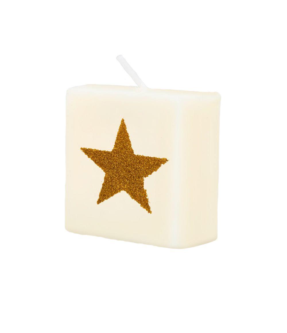 Letterkaarsje Symbool-Ster Goud