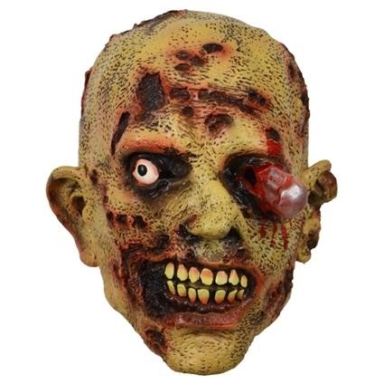 Rubber Masker Zombie Bloedend Oog